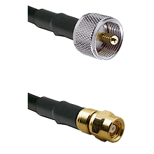 UHF Male on RG400 to SMC Female Cable Assembly