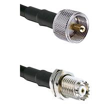 UHF Male on RG58C/U to Mini-UHF Female Cable Assembly