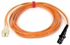 Custom Length MTRJ to SC Multi Mode Duplex Fiber Optic Cable 62.5/125um