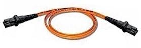 Custom Length MTRJ to MTRJ Multi Mode Duplex Fiber Optic Cable 62.5/125um