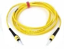 Custom Length St to St Single Mode Simplex Fiber Optic Cable 9/125um